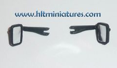 2 x Wing Mirrors for Tractors and Trucks 1:32 Scale by Artisan32 (Cat. No. 21169)