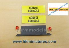 Roof Sign/Bar and Lights 'Convoi Agricole/Wide Load' 1:32 Scale 22395/04615-1/DEC40