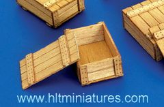 6 x Wooden Boxes 1:32/1:35 scale by Plusmodel PLM261