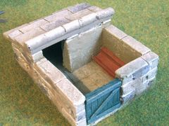 C22 Traditional Pigsty by JG Miniatures
