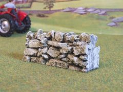 """C08B 3"""" Stone Wall by JG Miniatures 1:32 scale"""