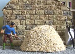 C16A Small Hay Stack by JG Miniatures Any scale