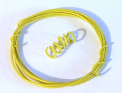 1m Yellow Wire for hydraulic hose etc 1:32 scale by HLT Miniatures FB060