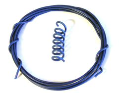 1m Blue Wire Hydraulic Hose etc 1:32 Scale by HLT Miniatures FB060