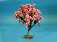S40 Small Cherry Tree 15cms Cherry Tree 'Any scale' by JG Miniatures