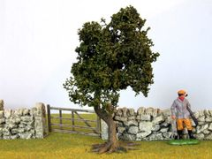 S04 15cms Bush Oak Tree'Any scale' by JG Miniatures