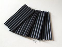 23264 Anthracite Corrugated Roof Sheets 1:32 Scale by Juweela