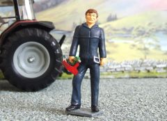 WM026 Labourer/Mechanic with Open Hand 1:32 scale by HLT Miniatures