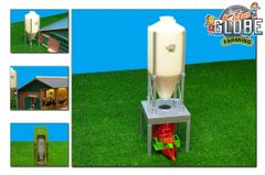 570062 Feed/Grain Silo 1:32 Scale by Kids Globe