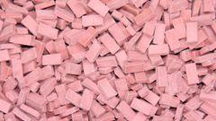 23018 Light Red Brick 1:32/1:35 Scale by Juweela