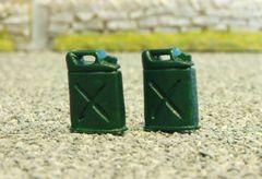 WM028 2x Petrol Cans