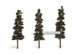 "WTR1563 Pine Trees by Woodland Scenics 7-8"" 3 Pack"