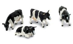 Friesian/Holstein Cows/Cattle by Britains 1:32 Scale 40961A1