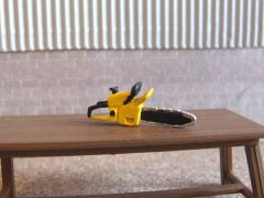 WM041Y Petrol Chainsaw (Yellow) 1:32 scale by HLT Miniatures