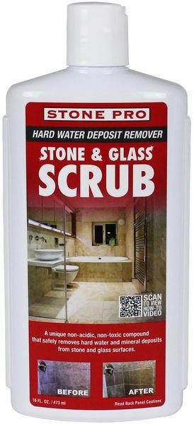 STONE AND GLASS SCRUB