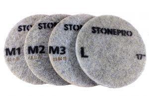 STONE PRO REVOLUTION DIAMOND IMPREGNATED PADS (DIP)