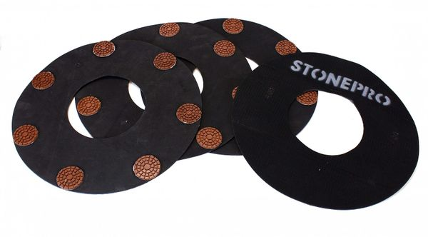 STONE PRO REVOLUTION SEMI-METAL RINGS