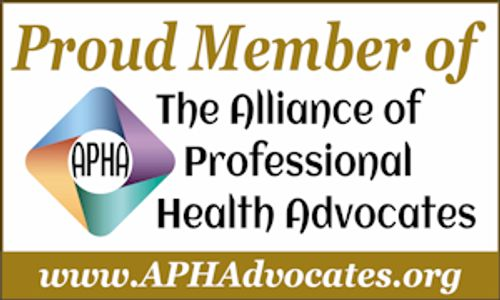 alliance of professional health advocates, professional patient advocate, advocacy organization