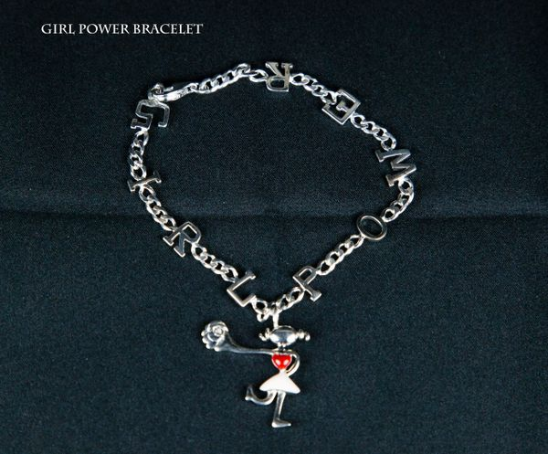 Got G.I.R.L. Power Bracelet (ENAMEL SKIRT)