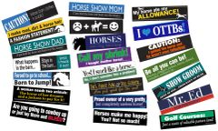50 BUMPER STICKER Pack - 50 Best-Selling Bumper Sticker assorted designs - Item # 50 BS