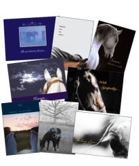 25 SYMPATHY Card Pack - 25 Best Selling Equine Sympathy Greeting Cards - Item # RP-25 Sym