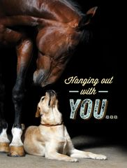 Thinking of You Card: Make my Day! - Item # TOY Horse/Dog
