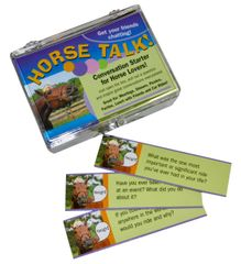 Horse Talk Conversation Starter - Item # HT Convo