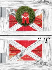 Christmas Card: Barn Door- Item# GC X Barn Door