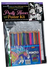 Activity Kit: Pretty Horses Poster Kit - Item #: PHPK