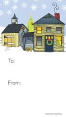 Gift Tag: House/Barn! Item # GT X 808