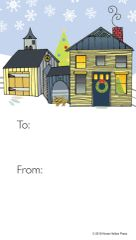 Gift Tags in BULK: House/Barn- Item # GT X BULK 808