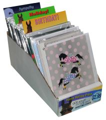 Little Display of Greeting Cards- Item # GC Cdbd Display