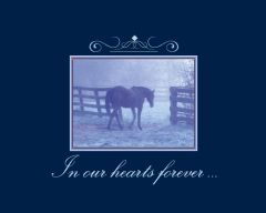 Sympathy Card: In our hearts forever... - Item # GC 14 Sym