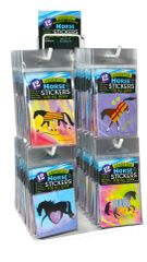Mini Horse Stickers Display - Item #: PHS Display