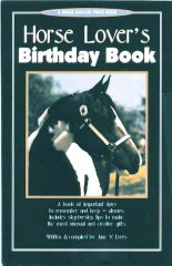 Horse Book: Horse Lovers Birthday Book