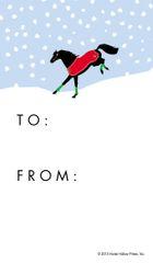 Gift Tag: Bucking Horse - Item # GT Bucking