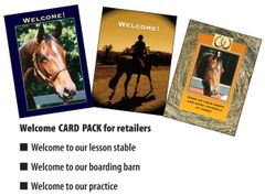 10 WELCOME Card Pack - 10 Welcome Cards - Item # RP-Welcome