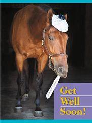 Get Well Card: Get well soon! - Item # GC B GW