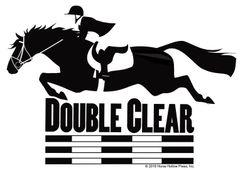 Clear Vinyl Window Sticker: Double Clear Window Sticker - Item # D Double