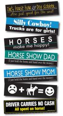 100 BUMPER STICKERS Pack! 100 assorted best sellers - Item # RP-100 Bump Pack