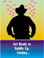 Birthday Card: Get ready to saddle up, cowboy... - Item # GC Cowboy