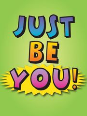 Birthday Card: Just Be You! - Item# GC B Just