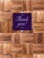 Thank You Card: Thank You!- Item # GC Mane