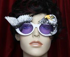 3858 Unusual Vivid Eagle Unisex Winged Fancy Sunglasses Shades Eye Wear UV 400