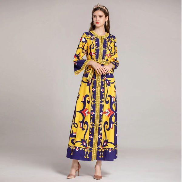 4452 Designer Trendy White/Blue Floral Kaftan | Zibellini Handmade ...