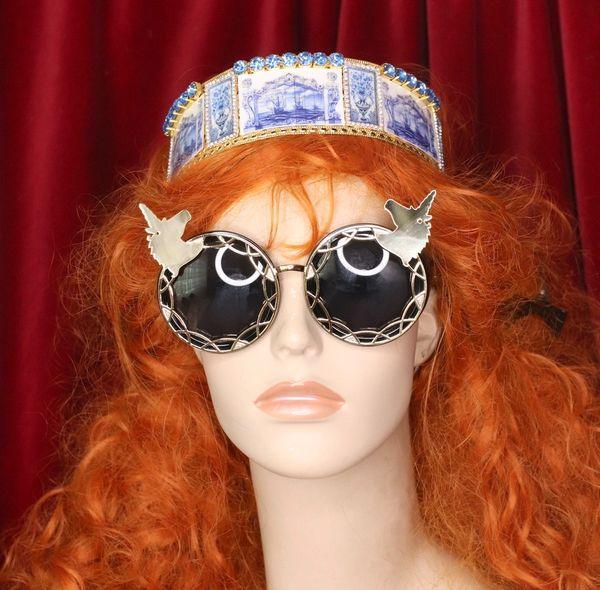 4778 Baroque Mirrow Unicorns UnusualEmbellished Sunglasses