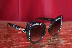 4798 Baroque I Love My Eyewear Print Sunglasses