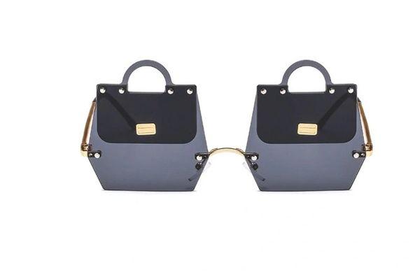 5254 3 Colors Handbag Shape Baroque Sunglasses
