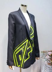 6316 Jacket Black offf High-end
