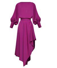 6319 Runway 2019 Fuchsia Elegant Skirt+ Top Twinset